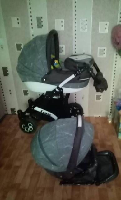 Детская коляска Cross 2 в 1
