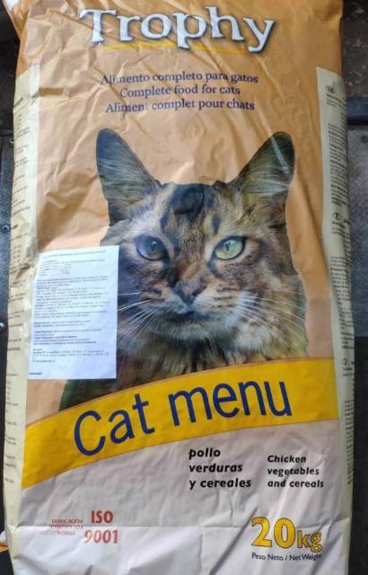 Кошачий корм