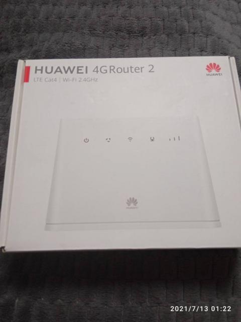 Беспроводной wi-fi роутер Huawei.
