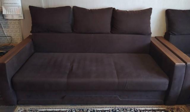 Продам диван,кресло,пуф