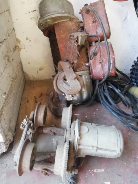 Електротельфер з кареткою(передвижна)